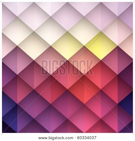Abstract geometric colorful background, pattern design elements, vector illustration