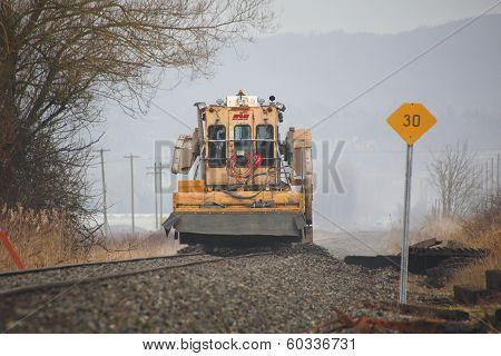 Maintaining Railway Bed