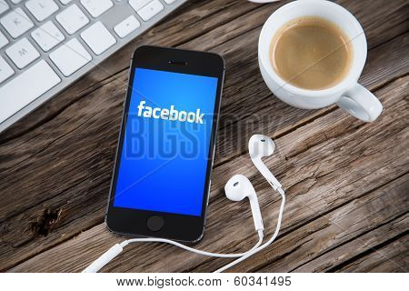 PRAGUE, CZECH REPUBLIC - FEBRUARY 20, 2014: Facebook is an online social networking service founded in February 2004 by Mark Zuckerberg with his college roommates and is now a fortune 500 company.