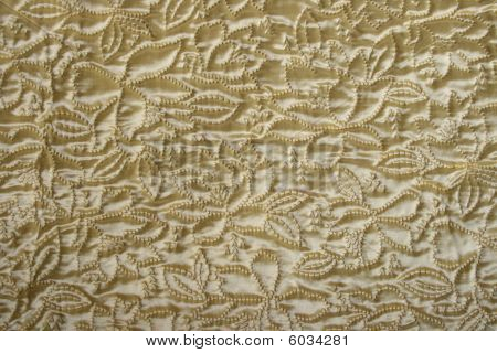 golden color blanket