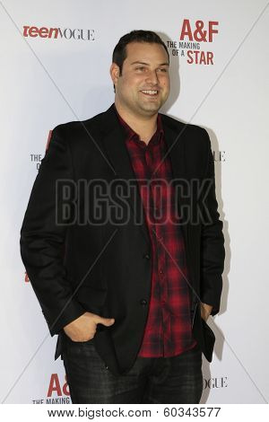 LOS ANGELES - FEB 22:  Max Adler at the Abercrombie & Fitch 'The Making of a Star' Spring Campaign Party  at Siren Studios on February 22, 2014 in Los Angeles, CA