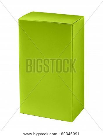 Green cosmetic packaging box