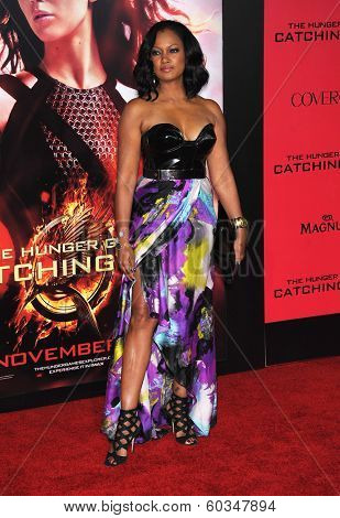 LOS ANGELES - NOV 18:  Garcelle Beauvais arrives to the