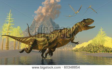 Yangchuanosaurus Dinosaurs