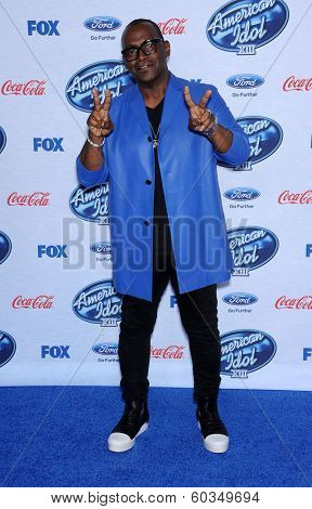 LOS ANGELES - FEB 20:  Randy Jackson arrives to the American Idol Top 13 Finalists  on February 20, 2014 in West Hollywood, CA