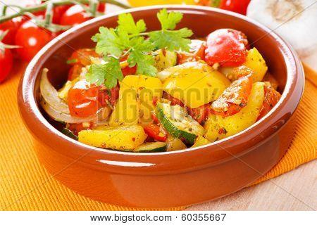Fresh Roasted Vegetables