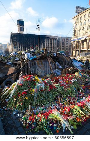 Ukrainian Revolution, Euromaidan After An Attack By Government Forces