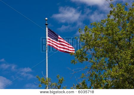 American Flag. Stars And Stripes