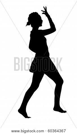 Acrobatic Gymnastics Girl Dance Routine