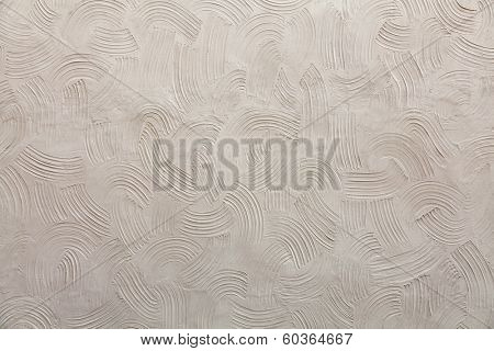 Structure of decorative plaster