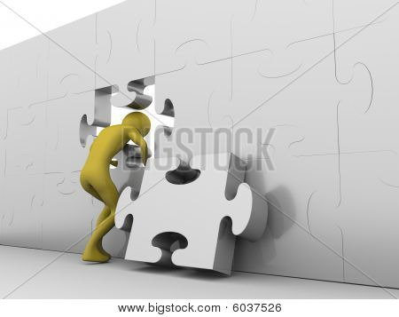 Hole In The Jigsaw Wall