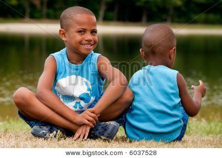 2 African Children