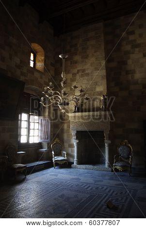Castle Fireplace