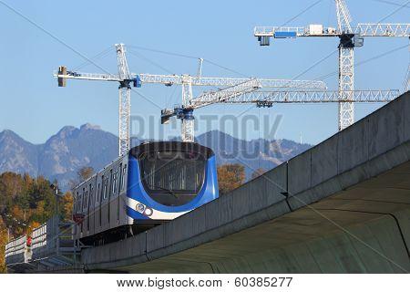 Commuter Rail Development, Vancouver