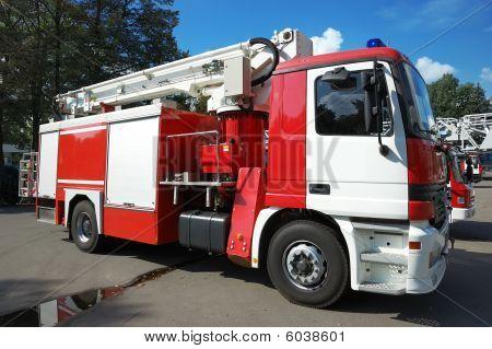 Modern Fire Truck