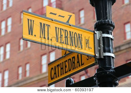 Baltimore - Mt Vernon