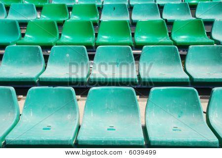 Stadium Green Seats