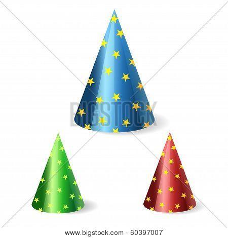 festive cap vector illustration