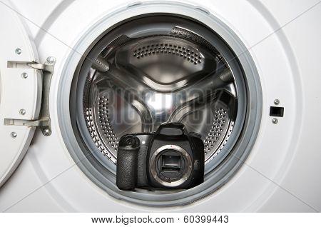 Camera In Washing Machine