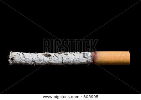 Cigarette Over Black