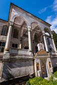 stock photo of neo-classic  - Entry to Neo Classical Library of Sultan Ahmed - JPG
