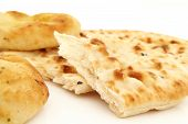 traditional Indian naan bread