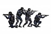 stock photo of special forces  - Special weapons and tactics  - JPG