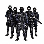 stock photo of officer  - Special weapons and tactics  - JPG