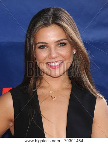 LOS ANGELES - JUL 17:  Danielle Campbell arrives to the CBS-CW-Showtime Summer TCA Press Tour 2014  on July7, 2014 in West Hollywood, CA.