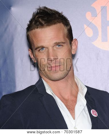 LOS ANGELES - JUL 17:  Cam Gigandet arrives to the CBS-CW-Showtime Summer TCA Press Tour 2014  on July7, 2014 in West Hollywood, CA.