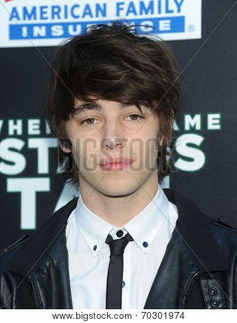LOS ANGELES - AUG 04:  Evan Crooks arrives to the