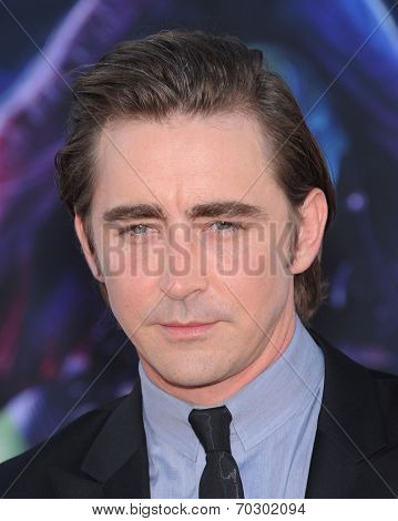 LOS ANGELES - JUL 21:  Lee Pace arrives to the