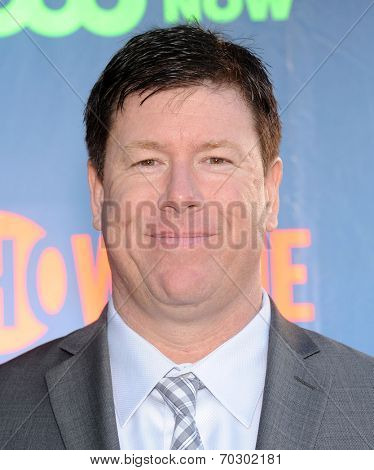 LOS ANGELES - JUL 17:  Jimmy Dunn arrives to the CBS-CW-Showtime Summer TCA Press Tour 2014  on July7, 2014 in West Hollywood, CA.