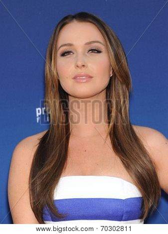 LOS ANGELES - APR 29:  Camilla Luddington arrives to the