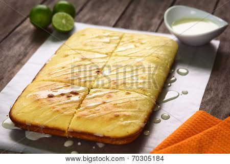 Lime Cake with Icing