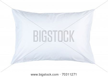 pillow with white pillow case