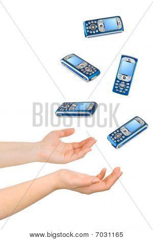 Juggling Hands And Phones