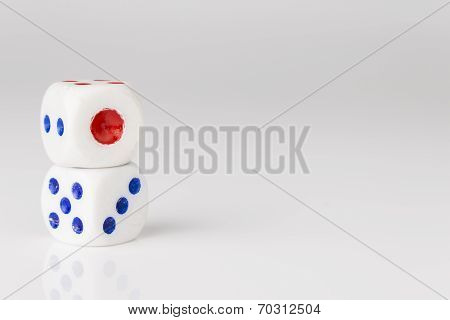 Double White Dice