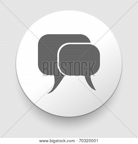 Vector illustration of communication icon