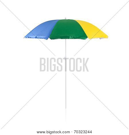Colorful Beach Sunshade