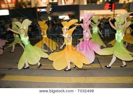 Hong Kong New Year parade
