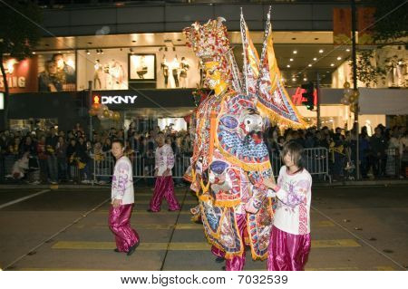 Hong Kong New Year parade