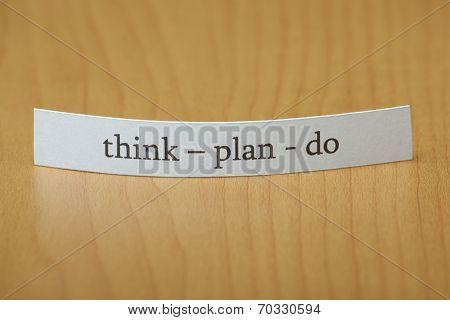 Think Plan Do