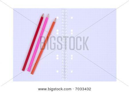 Open Spiral Notepad