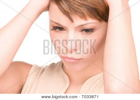 Unhappy Woman