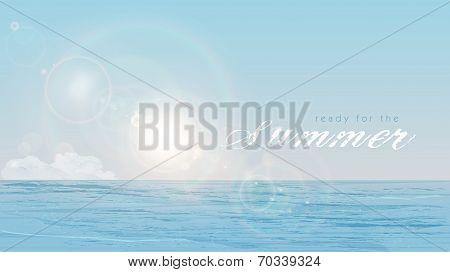 Summer, Sun, Sea