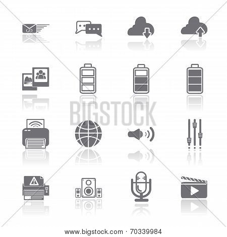 Pc Mobile Interface Icon Eps.10