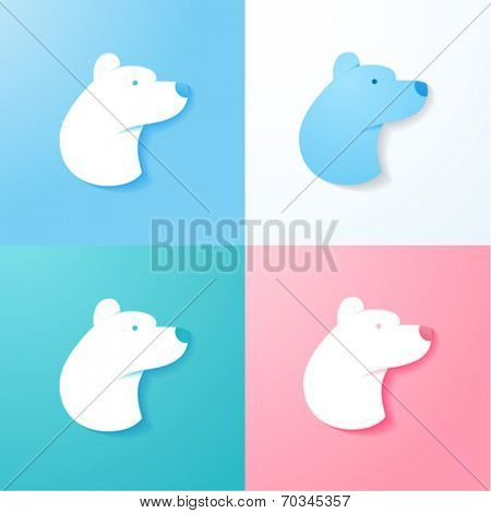 Simple Polar Bear