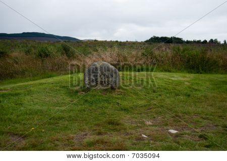 Culloden Grave Marker