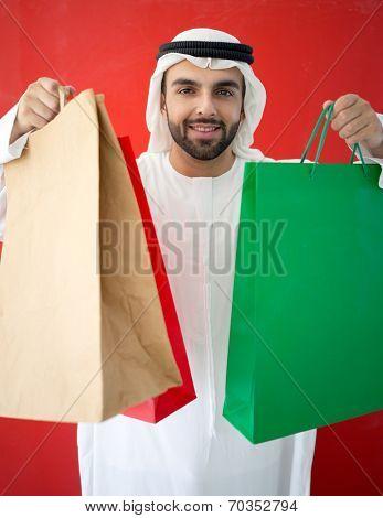 Arabicman shopping in UAE